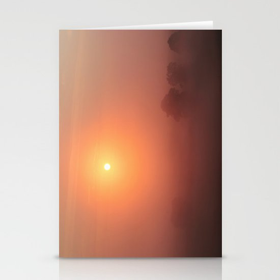 The Sun Before the Burn Stationery Cards