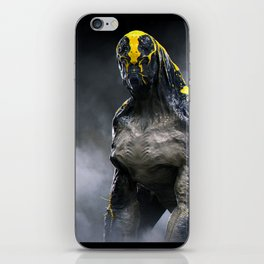 Abandoned Alien 01 iPhone Skin