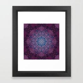 magic mandala 36 #mandala #magic #decor Framed Art Print