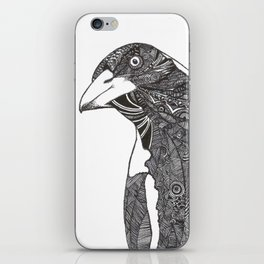 Curious Magpie iPhone Skin