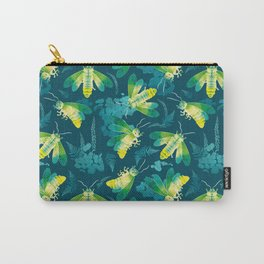 Fireflies Glowing Nights Carry-All Pouch