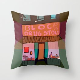 its chill Throw Pillow