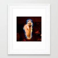 lipstick Framed Art Prints featuring Lipstick by rodalume