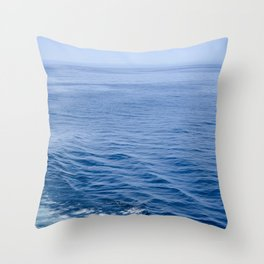 She Fell in Love on the Vast Wild Sea Throw Pillow