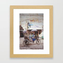 The Nepali Helicopter Framed Art Print