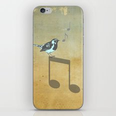 Please don't stop the music // Analog Zine iPhone & iPod Skin