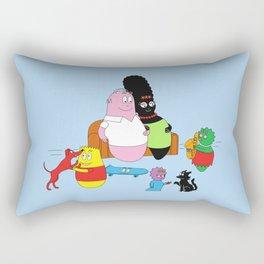 The Barbasimpsons Rectangular Pillow