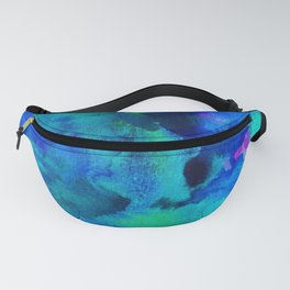 Turquoise Fanny Pack