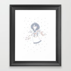 Christmas Angel Framed Art Print