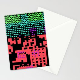 cityscape 07A ZX (C64 Re-remix) (2011) Stationery Cards