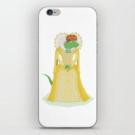 Queen Elizardbeth I iPhone Skin