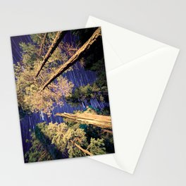 Startrails Stationery Cards