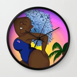 Chomba Rica - Blackylicious Wall Clock
