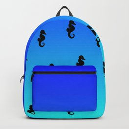 Under the Sea(horse)-Dark to Light Backpack