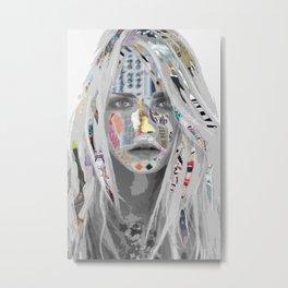 Cara Metal Print