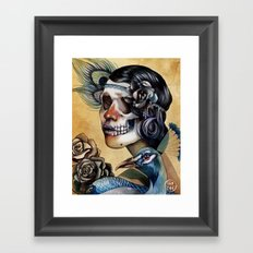 Queen of Indulgence  Framed Art Print