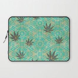 Beachy Steampunk Weed Laptop Sleeve