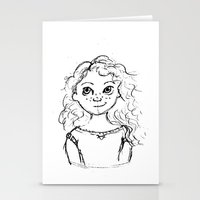 merida Stationery Cards featuring Merida by rapunzette