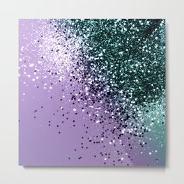 Mermaid Glitter Dream #2 #shiny #decor #art #society6 Metal Print