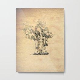 Blown Away Metal Print