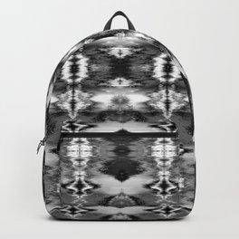 B&W Watercolor Ikat Backpack
