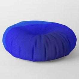 Blue Depths Floor Pillow