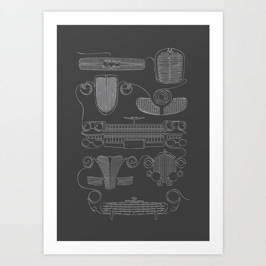 Classic Grills Art Print