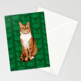 Roswell the Cat Stationery Cards