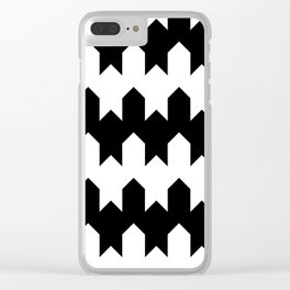 BW Tessellation 4 4 Clear iPhone Case