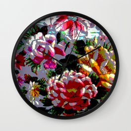 Stitched Up! Wall Clock