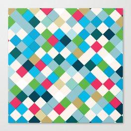 Colorful Mosaic Canvas Print