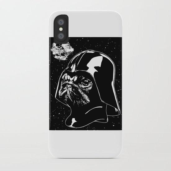 Pug Vader iPhone Case