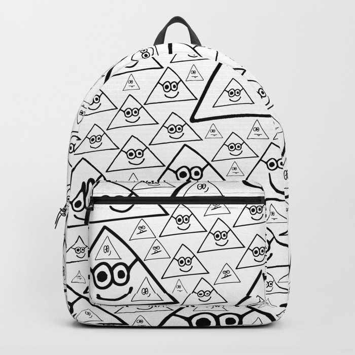 pyramid pattern 2 Backpack