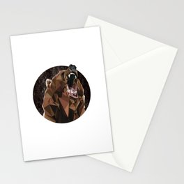 I can't bear these triangles! Stationery Cards