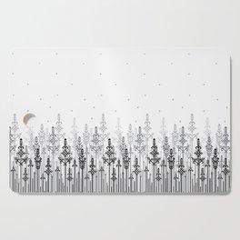 White field Cutting Board