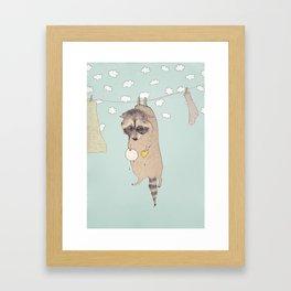 Wasbeer Framed Art Print
