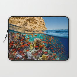 Island Sea Underwater Laptop Sleeve