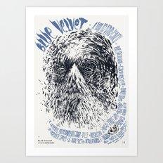 Blue Velvet / David Lynch Film Posters Art Print