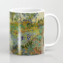 "Vincent van Gogh ""Garden at Arles"" Coffee Mug"