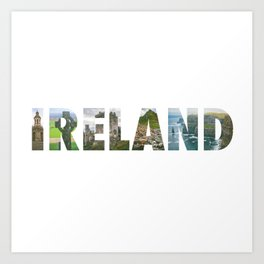Views from Ireland Art Print