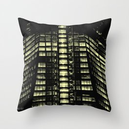 Manhattan Skyline Series 007 Throw Pillow