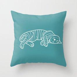 chesire cat Alice in wonderland Throw Pillow