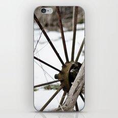 Broken Wheel iPhone & iPod Skin