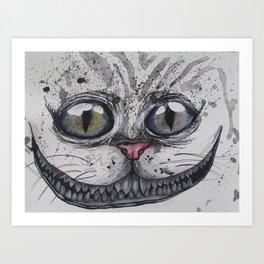 Cheshire Art Print