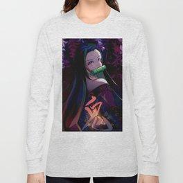 Anime Art - Nezuko Long Sleeve T-shirt