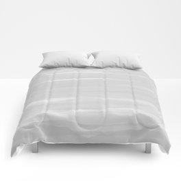 Gray Abstract Brush Print Comforters