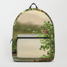 Hause at the river 8 Backpack