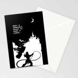 Castlevania Stationery Cards
