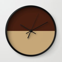 Choc Chai Wall Clock