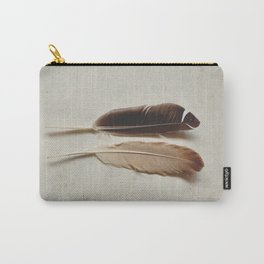 Feathered Pair Carry-All Pouch